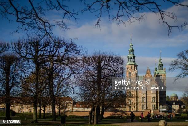 Rosenborg Castle in Copenhagen , denmark