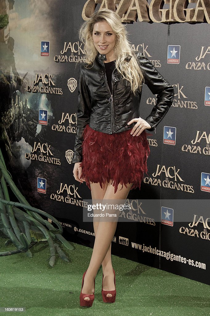 Roser Murillo attends 'Jack el Caza Gigantes' premiere photocall at Kinepolis cinema on March 13, 2013 in Madrid, Spain.