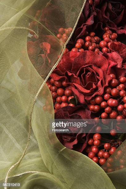 Roses and berries