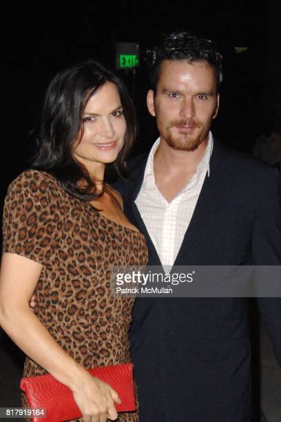 Rosetta Getty and Balthazar Getty attend Fashioning Fashion Private Dinner at the Los Angeles County Museum of Art Sponsored by Van Cleef Arpels at...