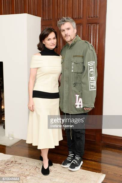 Rosetta Getty and Balthazar Getty attend Tania Fares and Rosetta Getty Together with Eric Buterbaugh Gia Coppola Jacqui Getty Irena Medavoy Jennifer...