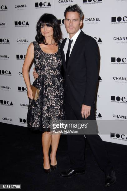 Rosetta Getty and Balthazar Getty attend The Museum Of Contemporary Art Los Angeles and Chanel Fine Jewelry present THE ARTIST'S MUSEUM HAPPENING at...