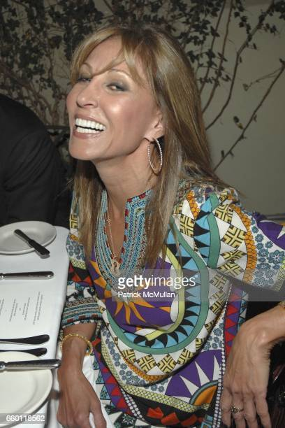 Rosette Delug attends SHE Images of women by Wallace Berman and Richard Prince Opening at Michael Kohn Gallery on January 15 2009 in Beverley Hills...