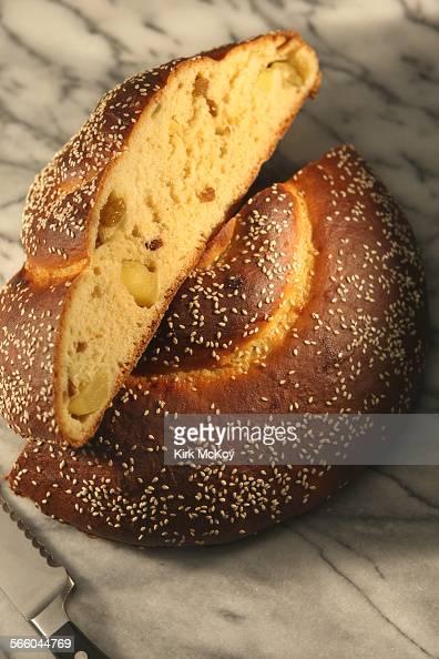 Rosh Hashanah: Apple honey challah.