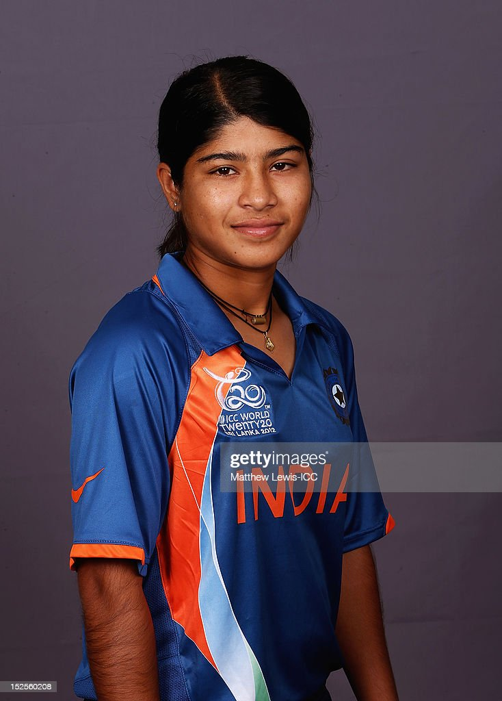 Roshnara Parwin of India Womens Cricket Team poses for a portrait ahead of the Womens ICC World T20 at the Galadari Hotel on September 22, 2012 in Colombo, Sri Lanka.