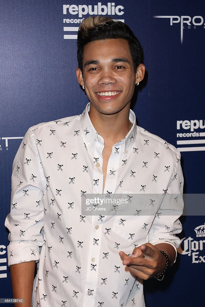 Roshon Bernard Fegan aka RO SHON attends Republic Records Official VMA After Party Red Carpet at Project La on August 24, 2014 in Los Angeles, California.