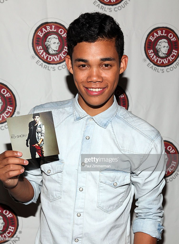 Roshon Fegan attends a fan meet and greet at Earl of Sandwich on June 13 2012 in New York City
