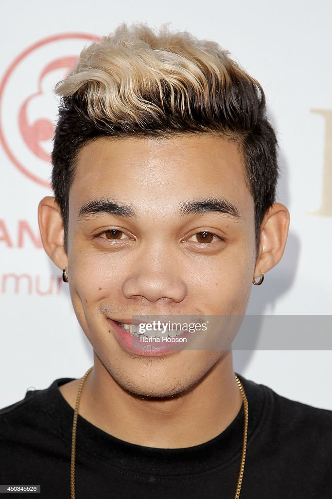 Roshon Fegan attends the 'Rebuild' benefit concert for Typhoon Haiyan survivors at The Greek Theatre on June 8 2014 in Los Angeles California