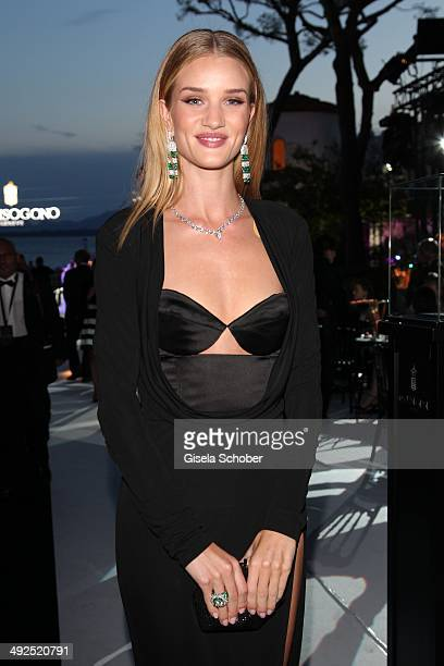Rosi Huntington Whiteley attends the Porsche At De Grisogono 'Fatale In Cannes' Party during the 67th Cannes Film Festival on May 20 2014 in Cannes...