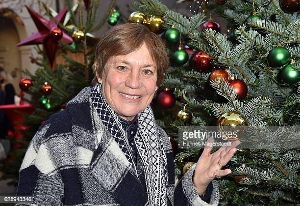 Rosi Mittermaier during the 21th BMW advent charity concert at Jesuitenkirche St Michael on December 10 2016 in Munich Germany