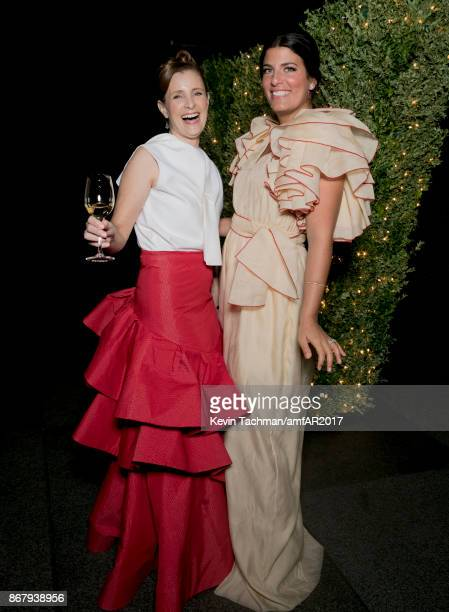 Rosie Assoulin at TWO X TWO for AIDS and Art 2017 at The Rachofsky House on October 28 2017 in Dallas Texas