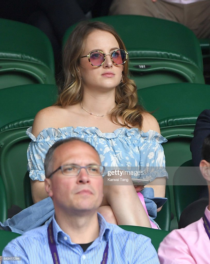 <a gi-track='captionPersonalityLinkClicked' href=/galleries/search?phrase=Rosie+Fortescue&family=editorial&specificpeople=7851088 ng-click='$event.stopPropagation()'>Rosie Fortescue</a> attends day two of the Wimbledon Tennis Championships at Wimbledon on June 28, 2016 in London, England.