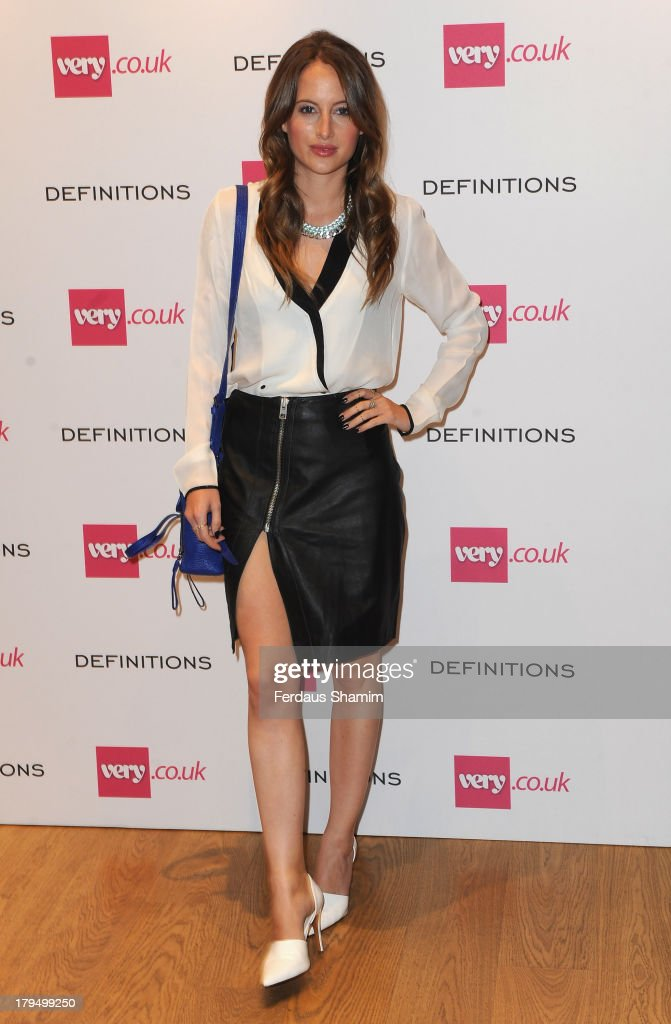 <a gi-track='captionPersonalityLinkClicked' href=/galleries/search?phrase=Rosie+Fortescue&family=editorial&specificpeople=7851088 ng-click='$event.stopPropagation()'>Rosie Fortescue</a> attends the launch party of very.co.uk's Definitions range at Somerset House on September 4, 2013 in London, England.