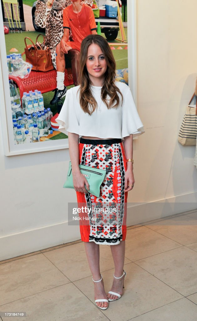 <a gi-track='captionPersonalityLinkClicked' href=/galleries/search?phrase=Rosie+Fortescue&family=editorial&specificpeople=7851088 ng-click='$event.stopPropagation()'>Rosie Fortescue</a> attends the private view of 'Miles Aldridge: I Only Want You To Love Me' at Embankment Gallery on July 9, 2013 in London, England.
