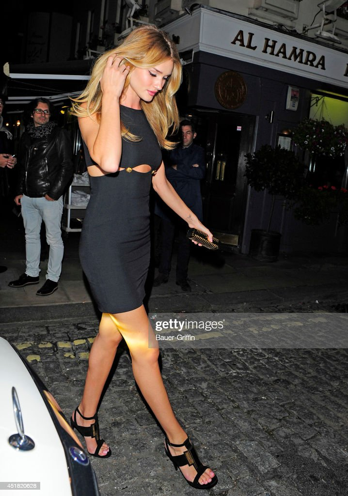 Rosie Huntington Whiteley is seen on September 17, 2013 in London, United Kingdom.