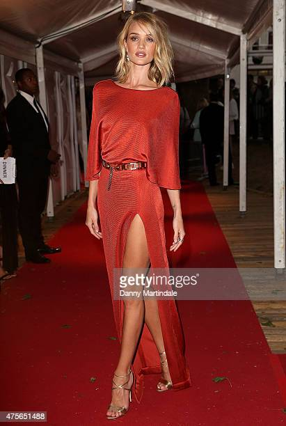 Rosie Huntington Whitely attends the Glamour Women Of The Year Awards at Berkeley Square Gardens on June 2 2015 in London England
