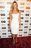 Rosie HuntingtonWhiteley arrives at the GQ Men of the Year awards at The Royal Opera House on September 3 2013 in London England