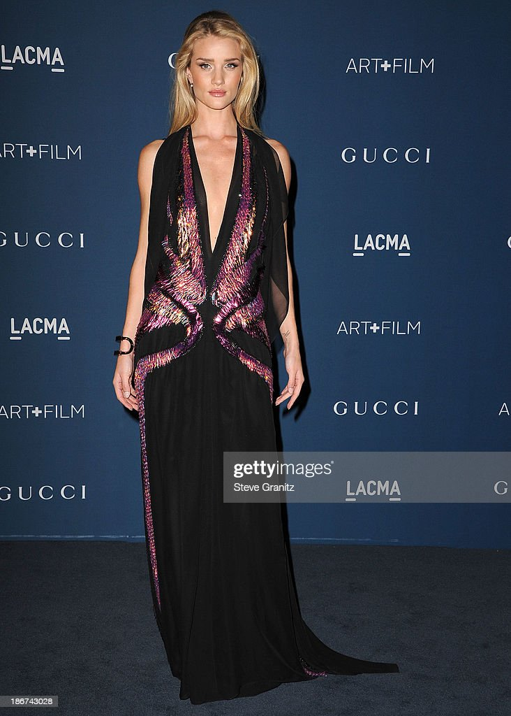 <a gi-track='captionPersonalityLinkClicked' href=/galleries/search?phrase=Rosie+Huntington-Whiteley&family=editorial&specificpeople=2244343 ng-click='$event.stopPropagation()'>Rosie Huntington-Whiteley</a> arrives at the LACMA 2013 Art + Film Gala at LACMA on November 2, 2013 in Los Angeles, California.