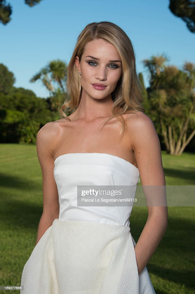 <a gi-track='captionPersonalityLinkClicked' href=/galleries/search?phrase=Rosie+Huntington-Whiteley&family=editorial&specificpeople=2244343 ng-click='$event.stopPropagation()'>Rosie Huntington-Whiteley</a> attends amfAR's 20th Annual Cinema Against AIDS during The 66th Annual Cannes Film Festival at Hotel du Cap-Eden-Roc on May 23, 2013 in Cap d'Antibes, France.