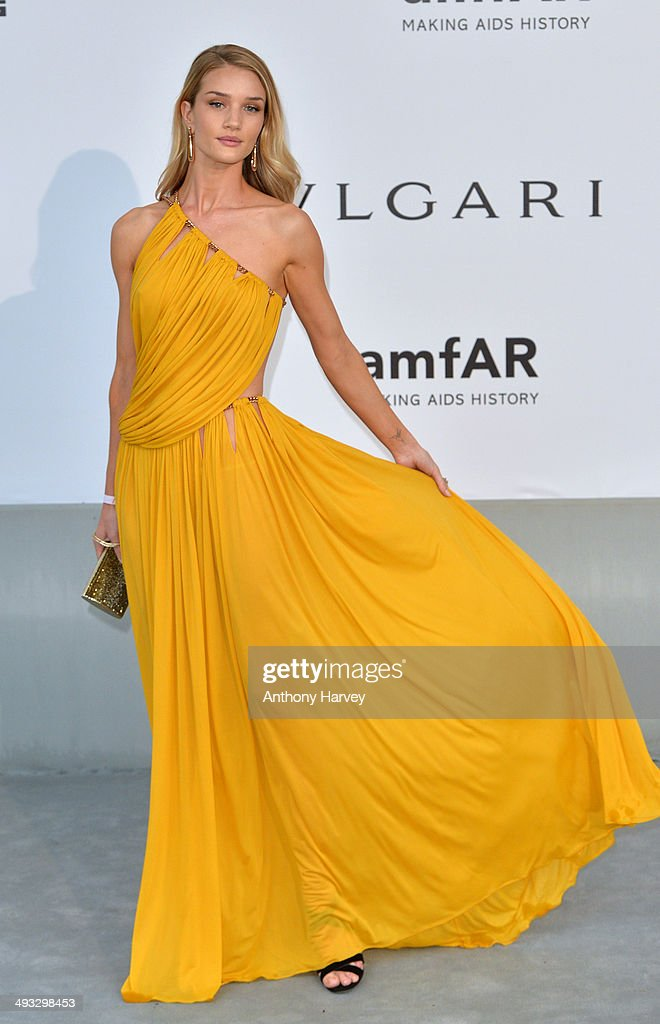 <a gi-track='captionPersonalityLinkClicked' href=/galleries/search?phrase=Rosie+Huntington-Whiteley&family=editorial&specificpeople=2244343 ng-click='$event.stopPropagation()'>Rosie Huntington-Whiteley</a> attends amfAR's 21st Cinema Against AIDS Gala, Presented By WORLDVIEW, BOLD FILMS, And BVLGARI at the 67th Annual Cannes Film Festival on May 22, 2014 in Cap d'Antibes, France.