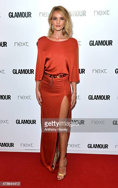 Rosie HuntingtonWhiteley attends the Glamour Women Of The Year Awards at Berkeley Square Gardens on June 2 2015 in London England