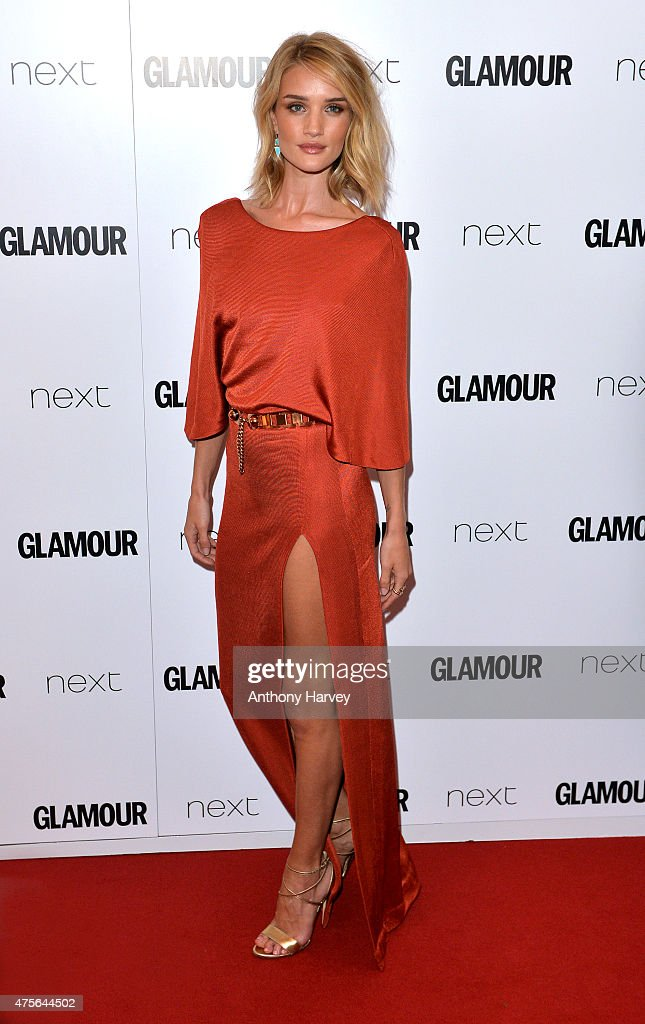 Rosie Huntington-Whiteley attends the Glamour Women Of The Year Awards at Berkeley Square Gardens on June 2, 2015 in London, England.