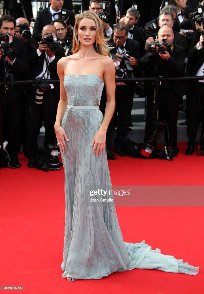 <a gi-track='captionPersonalityLinkClicked' href=/galleries/search?phrase=Rosie+Huntington-Whiteley&family=editorial&specificpeople=2244343 ng-click='$event.stopPropagation()'>Rosie Huntington-Whiteley</a> attends 'The Search' premiere during the 67th Annual Cannes Film Festival on May 21, 2014 in Cannes, France.