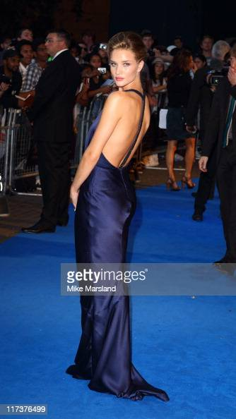 Rosie HuntingtonWhiteley attends the UK premiere of 'Transformers Dark Of The Moon' at BFI IMAX on June 26 2011 in London England