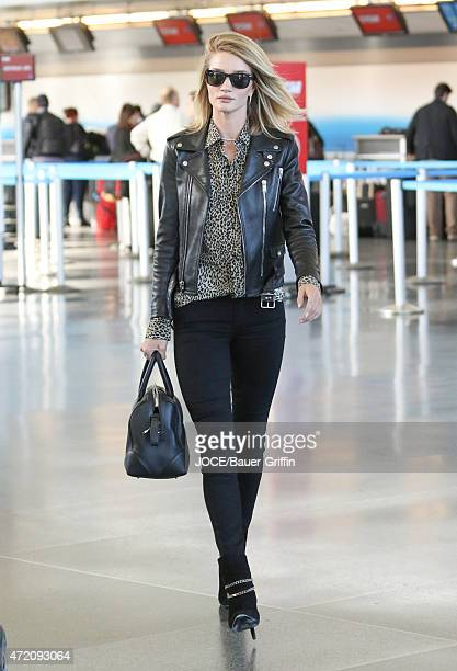 Rosie HuntingtonWhiteley is seen at JFK airport on May 03 2015 in New York City