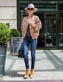 Rosie HuntingtonWhiteley is seen in SoHo on May 12 2015 in New York City