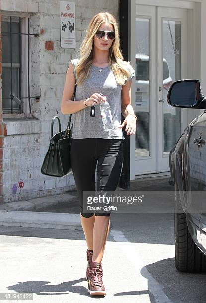 Rosie HuntingtonWhiteley is seen on July 09 2014 in Los Angeles California