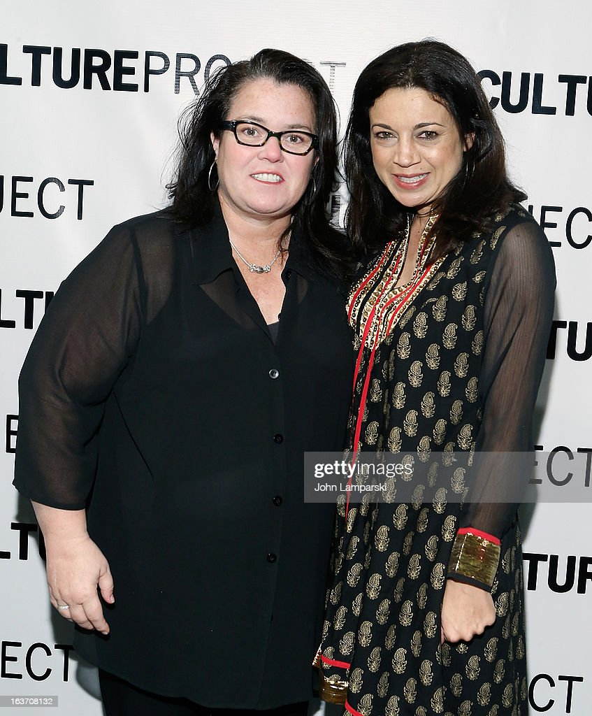 <a gi-track='captionPersonalityLinkClicked' href=/galleries/search?phrase=Rosie+O%27Donnell&family=editorial&specificpeople=201730 ng-click='$event.stopPropagation()'>Rosie O'Donnell</a> and Anna Khaja attends the 'Shaheed: The Dream And Death Of Benazir Bhutto' Off-Broadway Opening Night at Culture Project on March 14, 2013 in New York City.