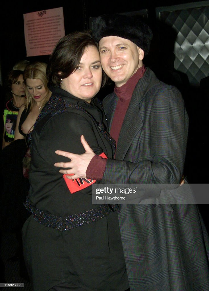 Rosie O'Donnell and Charles Busch during Rosie O'Donnell's Production of 'Taboo' Opens on Broadway After Party at The Roxy in New York City New York...