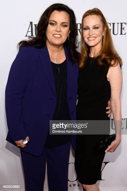 Rosie O'Donnell and Michelle Rounds attend the 68th Annual Tony Awards at Radio City Music Hall on June 8 2014 in New York City
