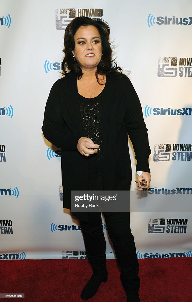 Rosie O'Donnell at SiriusXM's 'Howard Stern Birthday Bash' at Hammerstein Ballroom on January 31 2014 in New York City