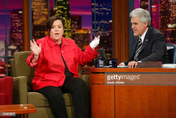 Rosie O'Donnell at 'The Tonight Show with Jay Leno' at the NBC Studios in Burbank Ca Monday Sept 23 2002 Photo by Kevin Winter/ImageDirect