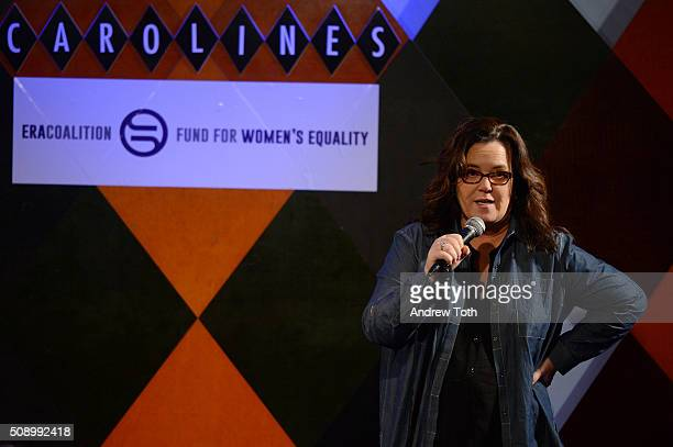 Rosie O'Donnell attends 'A Night of Comedy with Jane Fonda Fund for Women's Equality the ERA Coalition' on February 7 2016 in New York City