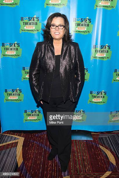 Rosie O'Donnell attends Rosie's Theater Kids' 12th Annual Gala Celebration at The New York Marriott Marquis on November 2 2015 in New York City