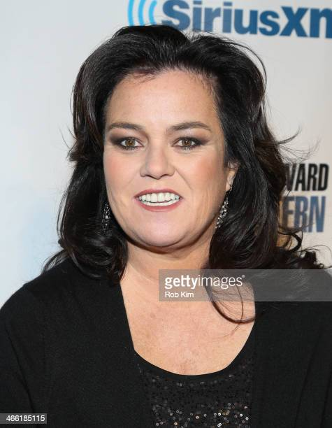 Rosie O'Donnell attends SiriusXM's 'Howard Stern Birthday Bash' at Hammerstein Ballroom on January 31 2014 in New York City