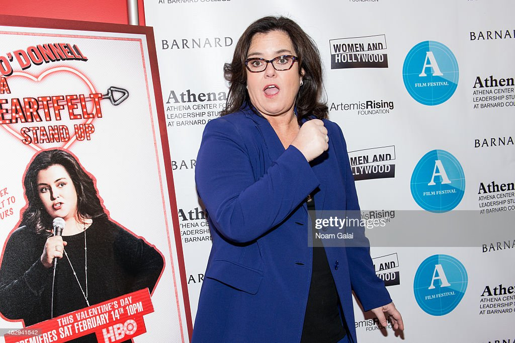 Rosie O'Donnell attends the 2015 Athena Film Festival awards ceremony and reception at Barnard College on February 7 2015 in New York City