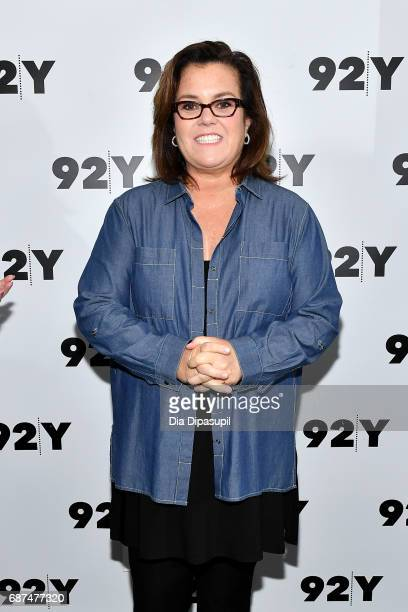 Rosie O'Donnell attends the 92nd Street Y Presents Sheila Nevins in Conversation with Rosie O'Donnell at 92nd Street Y on May 23 2017 in New York City