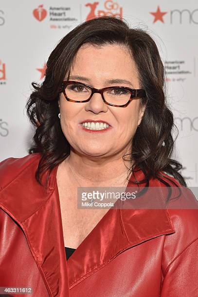 Rosie O'Donnell attends the Go Red For Women Red Dress Collection 2015 presented by Macy's fashion show during MercedesBenz Fashion Week Fall 2015 at...