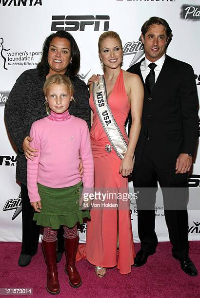 Rosie O'Donnell Chelsea O'Donnell Tara Conner Miss USA 2006 and Lorenzo Borghese