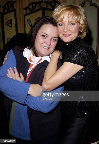 Rosie O'Donnell Christine Ebersole during Christine Ebersole Opening Night of her New York Cabaret Debut at Arcis Place Supper Club Cabaret in New...