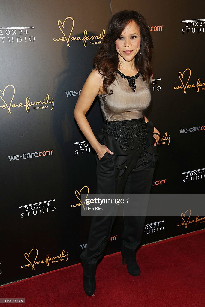 Rosie Perez attends 2013 We Are Family Foundation Gala at Hammerstein Ballroom on January 31, 2013 in New York City.