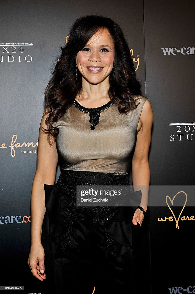 <a gi-track='captionPersonalityLinkClicked' href=/galleries/search?phrase=Rosie+Perez&family=editorial&specificpeople=171833 ng-click='$event.stopPropagation()'>Rosie Perez</a> attends the 2013 We Are Family Foundation Gala at Hammerstein Ballroom on January 31, 2013 in New York City.