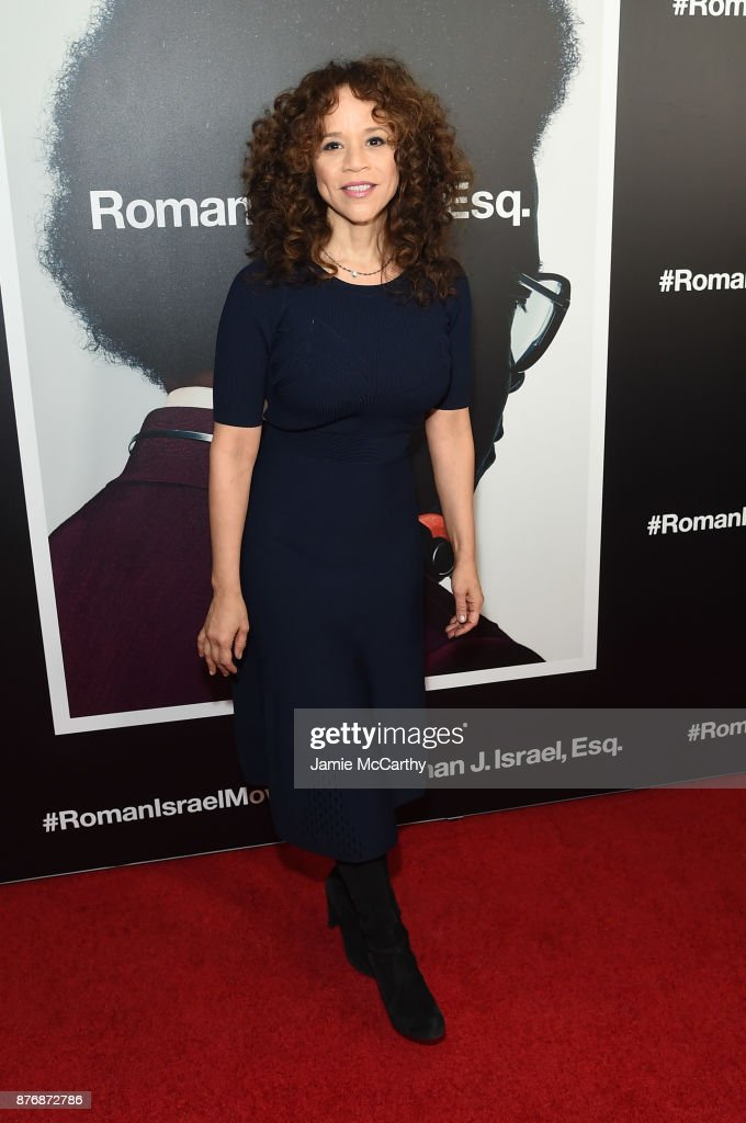 Rosie Perez attends the screening of Roman J. Israel, Esq. at Henry R. Luce Auditorium at Brookfield Place on November 20, 2017 in New York City.