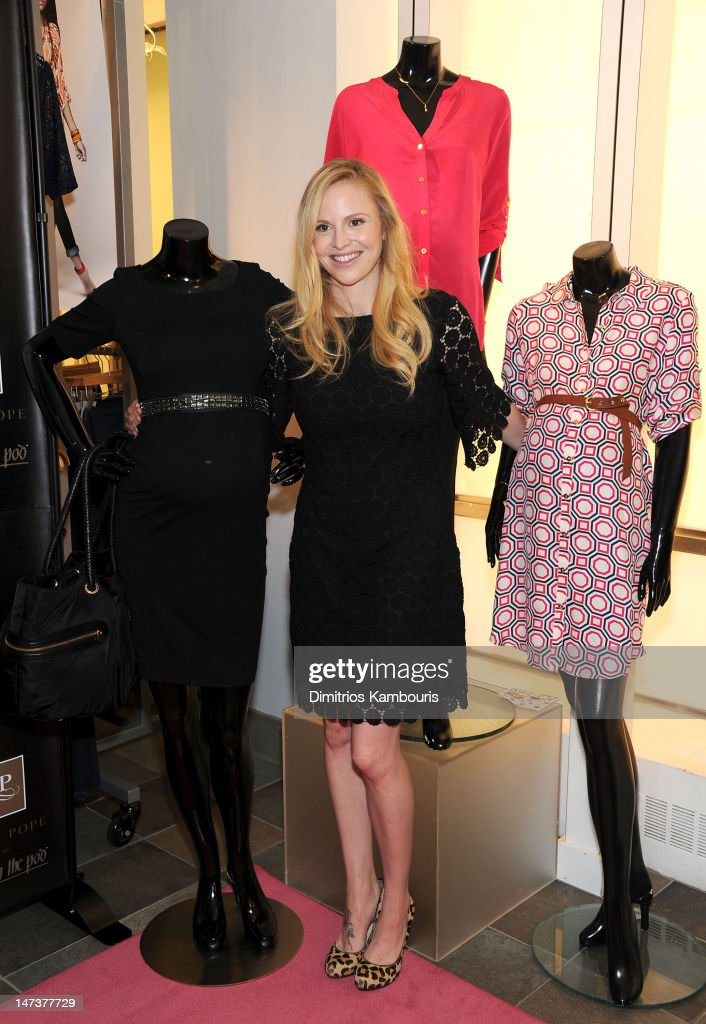 Rosie Pope attends the Destination Maternity and Rosie Pope celebration for the launch of the exclusive Rosie Pope for A Pea in the Pod Collection at Destination Maternity on June 28, 2012 in New York City.