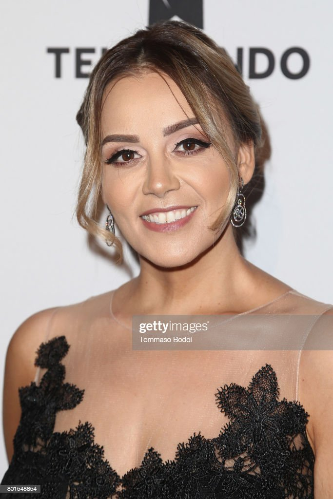 Rosie Rivera attends the Screening Of Telemundo's 'Jenni Rivera: Mariposa De Barrio' at The GRAMMY Museum on June 26, 2017 in Los Angeles, California.