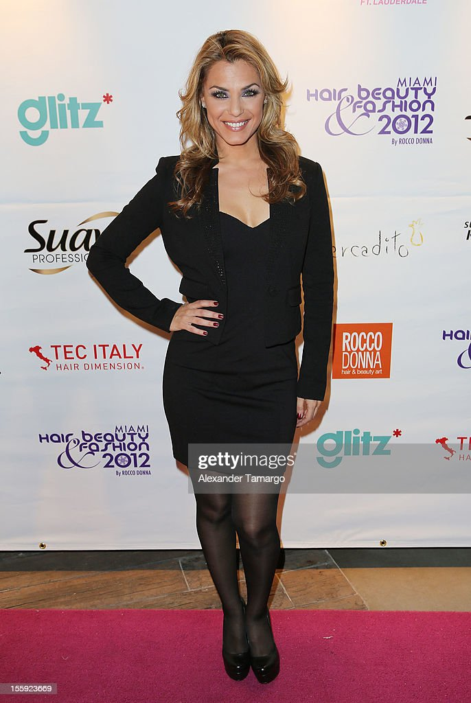 Rosina Grosso attends Miami Hair, Beauty & Fashion 2012 By Rocco Donna at Viceroy Hotel Spa on November 8, 2012 in Miami, Florida.